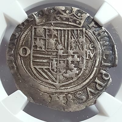 Mexico (1556-98) Philip I of Spain Silver Real MB #26 VF 30 NGC Nice! #2