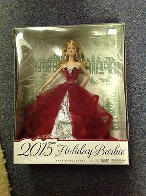 Mattel 2015 Holiday Barbie Doll Collector NIB Holiday Sale Super Quick Shipping