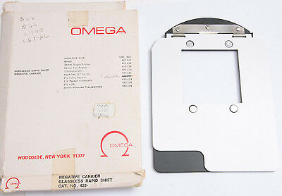 Omega C760 C67-XL Negative Carrier 120 6x6 cm 55x55mm Opening 423-222 USED N791