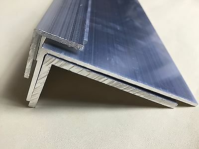Aluminium Extruded Angle - L profile -Various Size- LONG 2 M - 5 M --- VAT