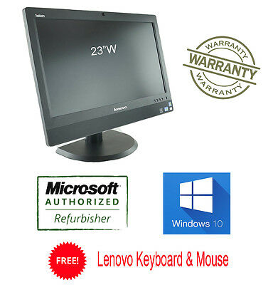"Lenovo ALL IN ONE M92z 3327 i5 2.9G 4GB 500G Win10 PRO 23"" 1920x1080 Webcam"
