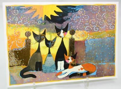 Postcard / Postcard / Art print Cat Rosina WACHTMEISTER Before the Goal