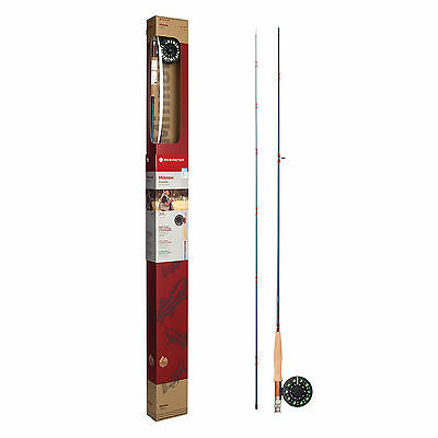 Redington Minnow Kids Fly Fishing 2 pc Outfit Youth Combo