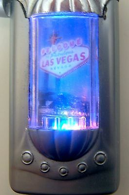 Las Vegas Welcome Sign Lighter Lights Up Flashes Color Works Torch
