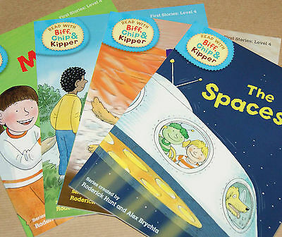 4 x Oxford Reading Tree Level 4 books   (ref. OL4a)