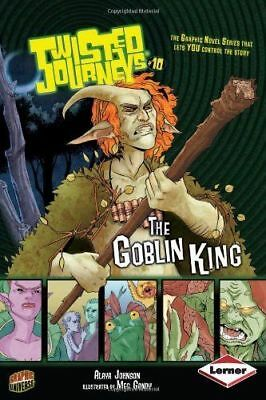 Twisted Journeys : The Goblin King   (graphic novel which reader directs)