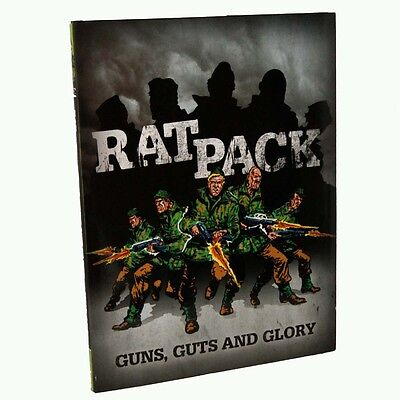 Rat Pack: v. 1 - Guns, Guts and Glory  (UNREAD / some shelf rubbing to covers)