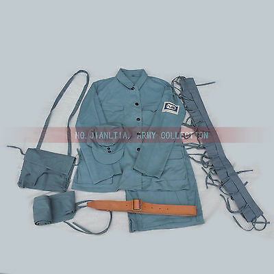 WW2 WWII KMT Replica China Eight Route Army Uniform Full Set Octal Kit Gear