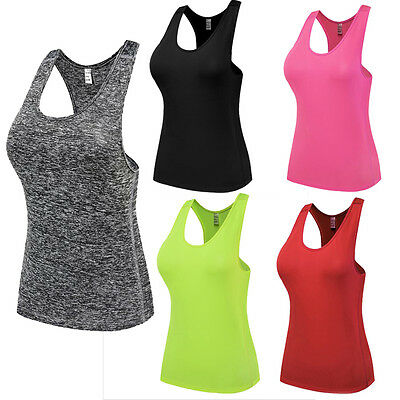 Women's Gym Compression Base Layer Thermal Under Shirt Tank Tops Sports Vest A23