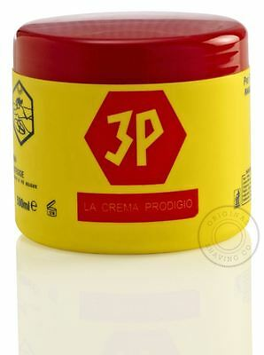 3P Pre and Post Shave Cream Tub - Skin Shaving Pot Barber Size - 500ml