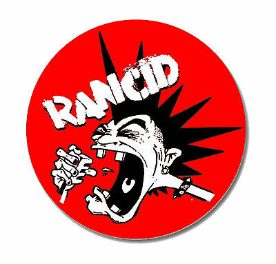 RANCID MOHAWK Button NEU 2,5cm Punk Punkrock Oi Tim Armstrong  Offspring Wolves