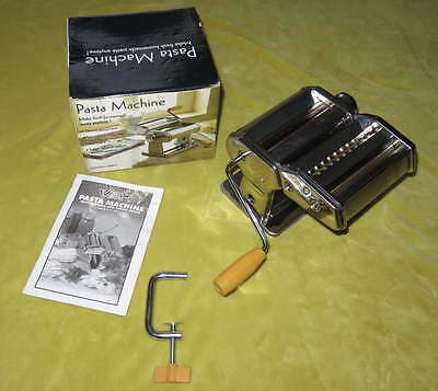 WESTON Manual PASTA MACHINE Maker Roller Homemade Recipe Guide Noodle Fresh