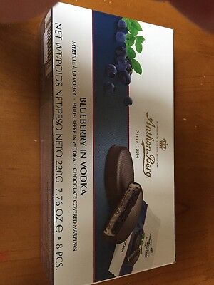Anthon Berg Blueberry In Vodka Marzipan 220g