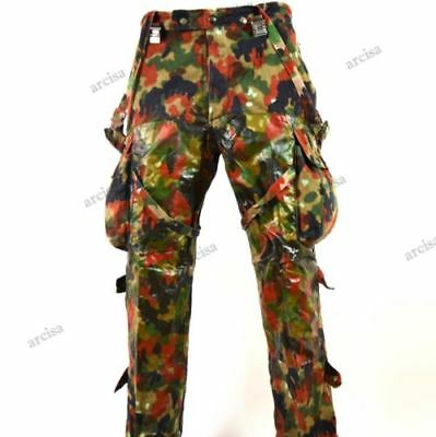 Genuine Swiss army combat trousers. Switzerland Alpenflage Camo sniper Trousers
