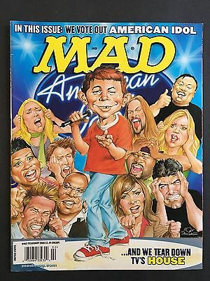 Mad Magazine February 2006 No 462  American Idol