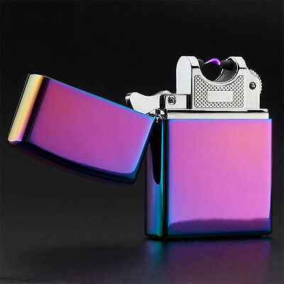 Hot Sale Electric Plasma Single Arc Lighter Windproof Flameless USB Rechargeable