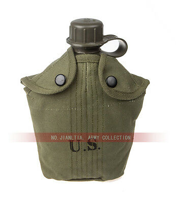 US Army Military M1956 Canteen with Cover Vietnam War