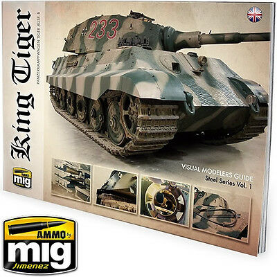 Ammo by Mig King Tiger - Visual Modelers Guide # 6022