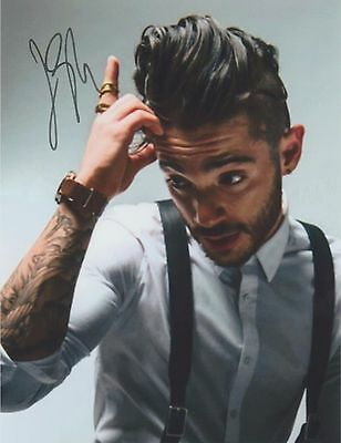 "Jon Bellion (Candid) The Human Condition ""All Time Low"" RARE SIGNED RP 8x10 WOW!"