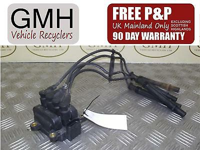 Renault Twingo 1.2 Petrol Ignition Coil Pack 4 Pin Plug 77040001  2007-2014 §