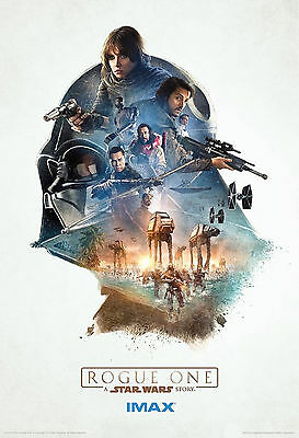 "Rogue One : Star wars Story : Movie banner : 27"" X 40"" Top Quality VINYL Poster."
