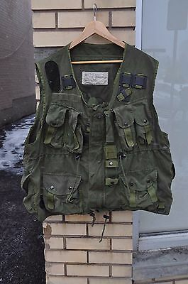 Genuine Canadian Forces Tactical Load Bearing Vest  OD Green Size Men's L / XL