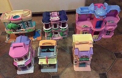 Fisher Price~SWEET STREETS~6 Buildings-Hotel~2 Dance~TownHouse~Beauty~Pet~Beach