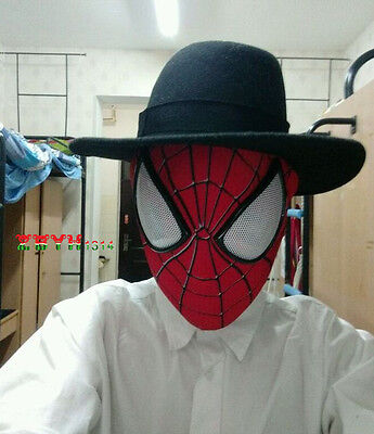 Amazing Spider-Man 2 mask 3D Digital printing hood Spiderman Headwear Face Mask