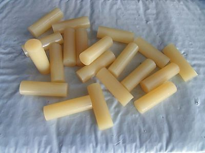 "20 NEW 3M Scotch Weld Hot Melt Adhesive Glue Sticks Tan 5/8"" x 2"", Free Shipping"