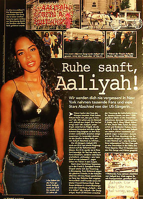 1 german clipping AALIYAH SINGER SOUL R&B R.I.P
