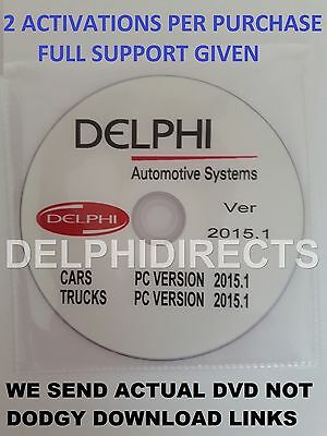 Latest Delphi New 2015.1  Ds.-I5O Software For Trucks And Cars + W0W