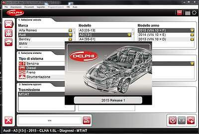Latest Delphi  New  2015.1 Ds.-I5O Software For Trucks And Cars +W0W