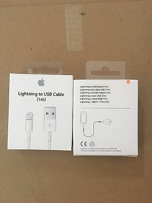Lots 3 Chargeur Cable Lightning 2M D' Origine Apple MD819ZMA  iPhone 5/5S/6/6S
