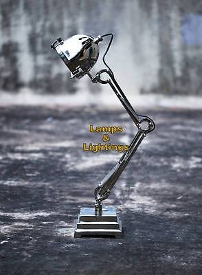 ANCIENT Retro Industrial Machine Desk Lamp Side Table Lighting Bankers Decor