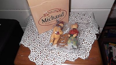 Sarah's Attic Figurine - The Michaud collection, Bellhop& second hand Rose, new