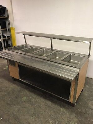 Vollrath 5 Pan Well Electric Steam Table Buffet Portable Serving Line Hot Food