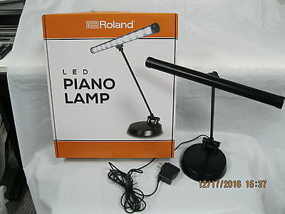 roland led piano lamp LED with battery or ac adapter lcl 100