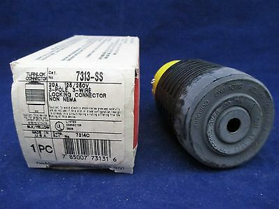 Pass & Seymour 7313-SS Locking Connector new