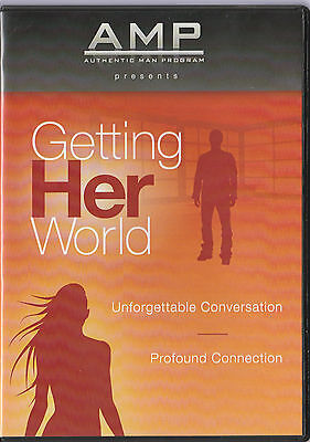 Authentic Man Program (AMP) - Getting Her World - 8 DVDs