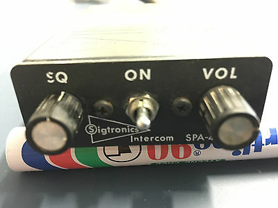 Sigtronics 4 Place Intercom P/N SPA-400