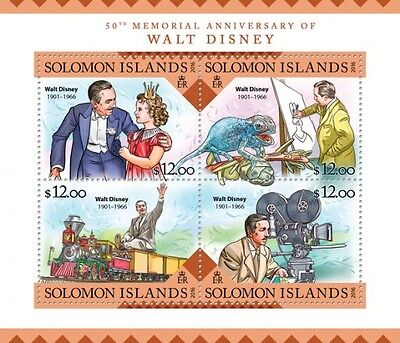 Z08 SLM16222a SOLOMON ISLANDS 2016 Walt Disney MNH
