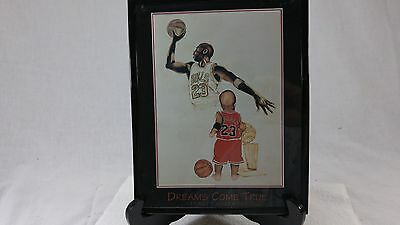 Kenneth Gatewood Dreams Come True Michael Jordan Print Old and Child Jordan 8x10