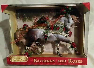 NIB Breyer Horse #700117 Bayberry and Roses Holiday Christmas 2014 New Sealed