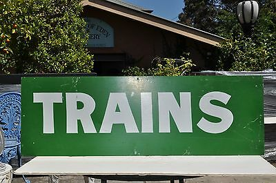 V.R. Trains sign