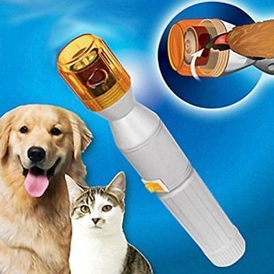 Pedipaws Pet Nail Trimmer   Dog Cat Nail Grinder Electric Trimmer