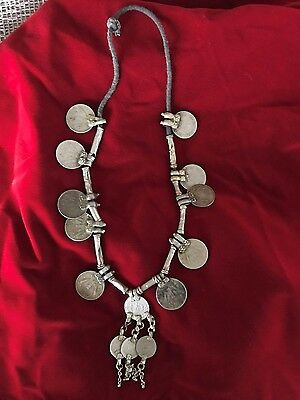 Old Afghanistan Style Tribal Coin Necklace …beautiful collection piece