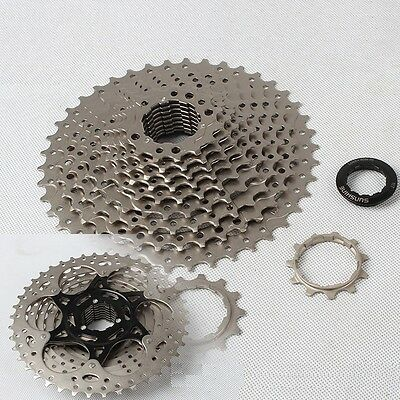 SUNSHINE MTB Mountain Bike Bicycle 11 Speed 11-42T Cassettes 11S Cassette Silver