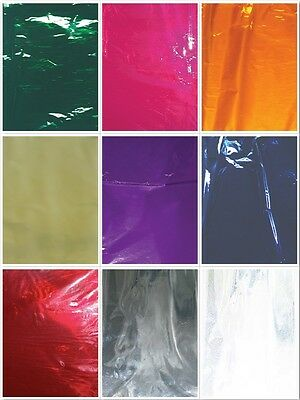 A+ Quality Cello Wrap Coloured Party Wedding Birthday Gift Wrapping Cellophane