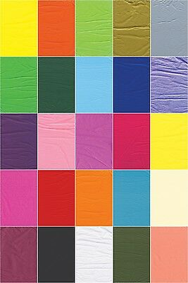 A+ Tissue Paper X 5 Sheets Coloured Party Wedding Birthday Gift Wrapping Wrap