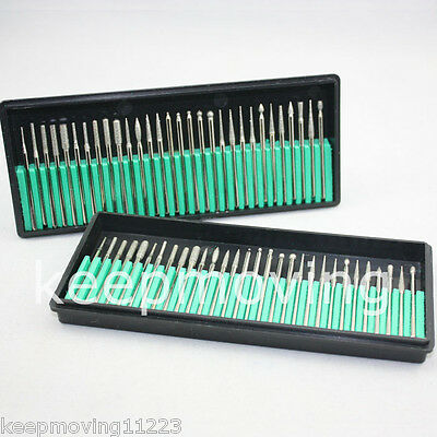 2 Sets Dental Diamond Burs Millers Tooth Drill Jewelers Dentist Lab Products